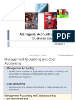 Chap 001 Managerial Accounting  ppt