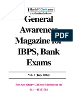 General Awareness Magazine Vol-1 July 2014