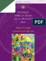 WHO OMS 2002 - Informe Mundial de Salud (Reducir Riesgos)