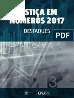 CNJ Justiça Em Números Destaques 2017