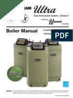 Ultra Series 3 Boiler Manual