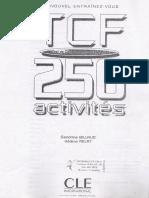 sujet de dissertation tcf
