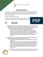 faith formation plan