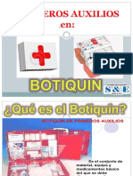 2. Uso Del Botiquin