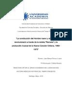 DocumentSlide.org-La Construcción Del Hombre Nuevo y El Sujeto. Revolucionario a Través de La Revista Ramona y La. Producción Musical de La Nueva Canción Chilena, PDF