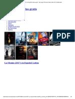 La Momia (2017) en Español Latino Gratis - Descargar Peliculas Gratis Latino HD _ Subtituladas
