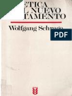 Etica de Nuevo Testamento - Schrage_ Wolgang