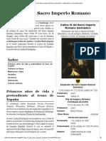 Carlos VI Del Sacro Imperio Romano Germánico - Wikipedia, La Enciclopedia Libre
