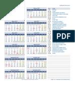 Calendario Feriados 2018 de Latinoamerica