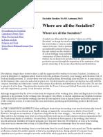 Socialist Studies 89