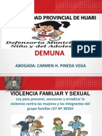 Violencia Familiar - Demuna