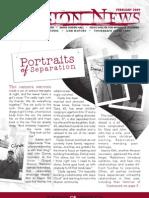 February 2009 Spokane Union Gospel Mission Newsletter
