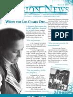 March 2009 Spokane Union Gospel Mission Newsletter