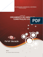 Curso Orçamento de Obras de Construção Civil - Módulo V