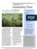 September 2010 Community Newsletter