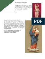 Las Distintas Formas en Que Se Ha Manifestado La Virgen Maria