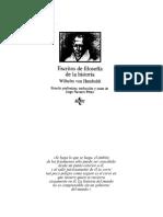Humboldt. Escritos de Filosofía de La Historia