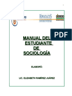 Manual Del Estudiante Sociologia