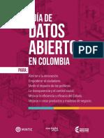 Guia de Datos Abiertos en Colombia