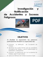 Mtps Modulo III Registro Investigacion y Notificacion de Accidentes y Sucesos Peligrosos