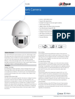 Datasheet 2MP PTZ Network Camera DH-SD6AEA230FN-HNI v001 004