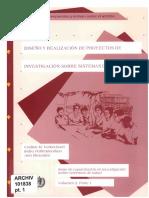 IDRC Canadá 1995 Metodología y Proyectos de Investigación en Sistemas de Salud