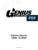 Alarma OEM G5504 Version 2