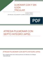 ATRESIA PULMONAR CON Y SIN COMUNICACIÓN INTERVENTRICULAR.ppt