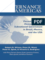 Governance in the Americas