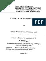 Al Jazri Contribution