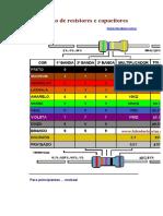 Apostila Codigo de Resistores e Capacitores