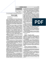 DECRETO SUPREMO N° 001-2014-MINAM