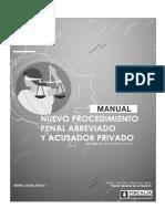 NUEVO PROCEDIMIENTO PENAL ABREVIADO Y ACUSADOR PRIVADO.pdf