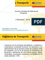 1. Introduccion a la ingenieria de transporte