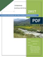 Estudio Integral de Una Cuenca Hidrográfica1