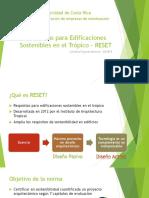 Requisitos Para Edificaciones Sostenibles en El Trópico