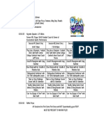 2018 bam schedule - 1