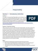 169742 Topic Exploration Corporate Social Responsibility Activity