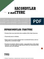 Supracondylar Fracture