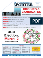 UCO Operations 2018, UCO Reporter, February Ediition, January 26, 2018