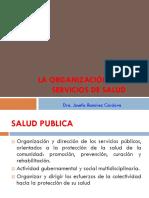 1 La Organización de Los Esrvicios de Salud
