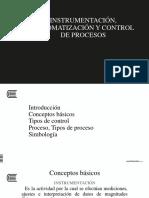 1. Instrumentación, Automatización y Control