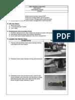 Job Sheet 2 (Spooring)