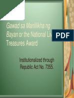 Gamaba-Awardees