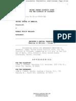 USA v Ronald Phillip Wallace Case 1:08-cr-00409-CMA Document 81