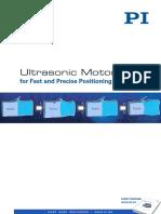 Ultrasonic Motors Catalog