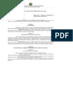 Lei Complementar Nº 50, De 1º de Outubro de 1998 Pcr MT