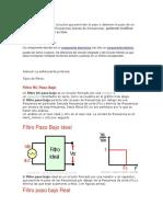Filtros y Componentes Discretos Exposicion