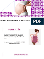 Signos de Alarma en El Embarazo