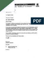 Andrew Stewart Disability Documents Bert Bell Response